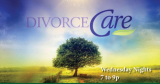 Divorce care  welcome Electronic sign 2014