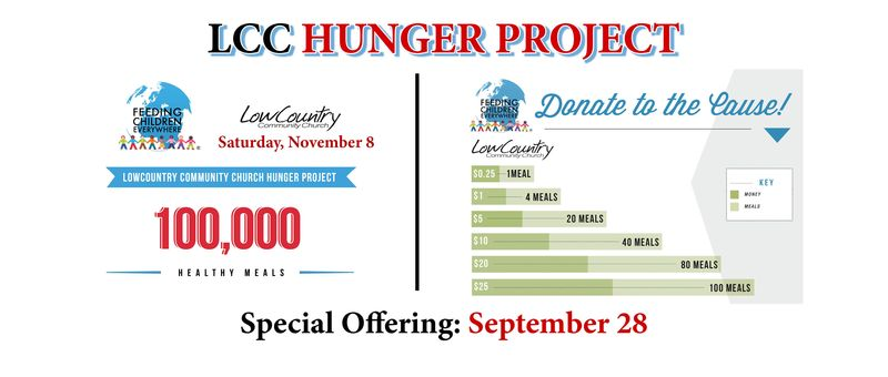 Hunger Project large web graphic banner new